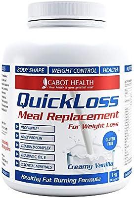 Amazon.com: Cabot salud quickloss Reemplazo de comida ...