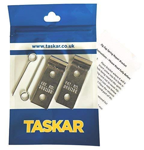 Taskar Sofa Zig Zag Spring Repair Brackets (2 - Replacement Parts Repair
