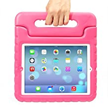 iPad MiNi 4 Case,iPad MiNi 4 Kiddie Case-Grand Sky-Shockproof Case Light Weight Kids Case Super Protection Cover Handle Stand Case for kids Children for Apple iPad mini 4(ipad mini 4, pink)