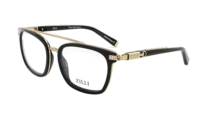 8007a8d17fa Amazon.com  ZILLI Luxurious Eyewear ZI 60017 55-18-140 Made with Crocodile  Leather and Titanium HAND MADE IN FRANCE