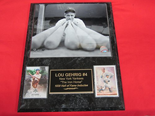 Framed SG Signature Engraved Plate Series NY Yankees Babe Ruth /& Lou GehrigDuck Hunt 12x18 Photograph