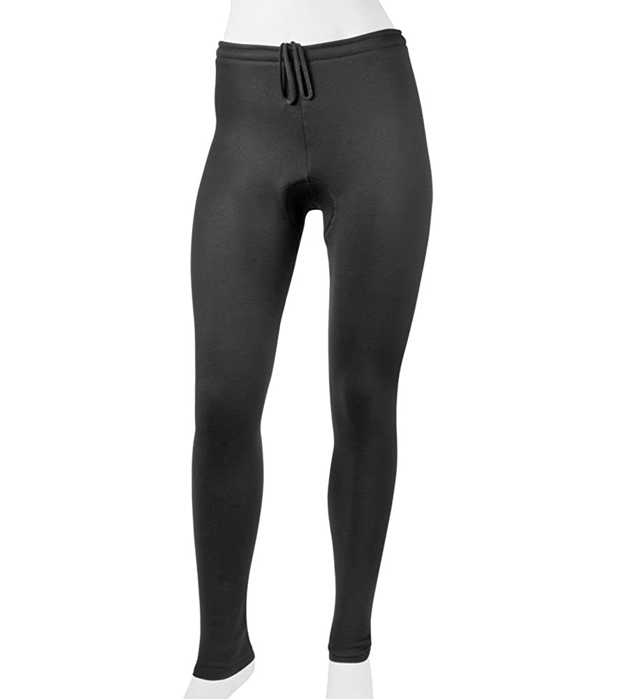 99fec2e72ba2be Amazon.com: ATD Plus Women's Stretch Fleece Padded Cycling Tights - Made in  The USA: Clothing