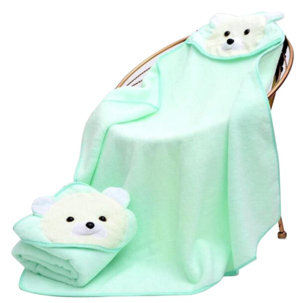Baby Animal Hooded Towel Unisex Baby Towels Hooded Towel For Kids By October Elf None-Name OE238BRBL