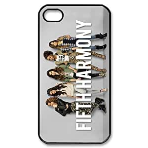 Fifth Harmony Protective TPU Cases Back Cover (Black, White) For iPhone 5c