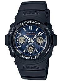 CASIO Men's Watch G-SHOCK the world six stations Solar radio AWG-M100SB-2AJF
