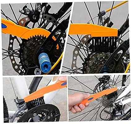 Cadena De Limpieza En Bicicleta Conjunto De Herramientas Bici ...