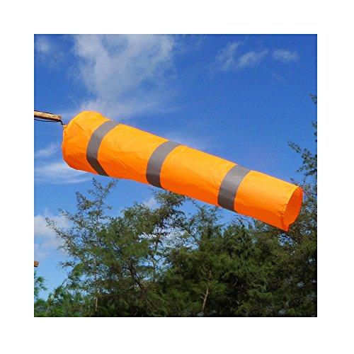 Outdoor Sports Windsock Bag Airport Flag Measurement Wind Sock Direction Reflective Belt Grommets,80CM/31.5