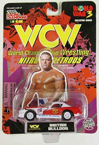 - WCW Nitro Street Rods British Bulldog by Racing Champions