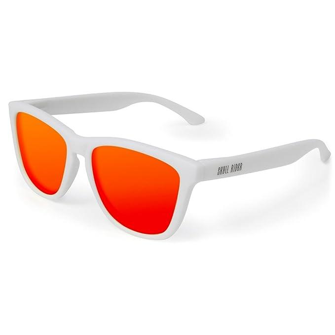 a472193a01 Skull Rider - Gafas de sol Chris White Unisex: Amazon.es: Ropa y accesorios