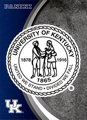 2016 Panini Kentucky #3 Official University Seal
