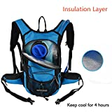 MIRACOL Hydration Backpack with 2L Water Bladder, Thermal...