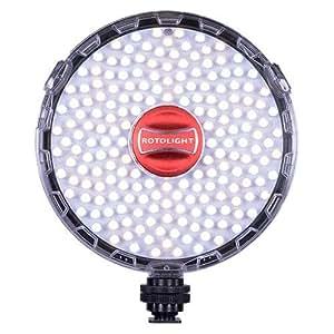 Rotolight NEO II On-camera LED Lighting Fixture, Light and Flash Modes