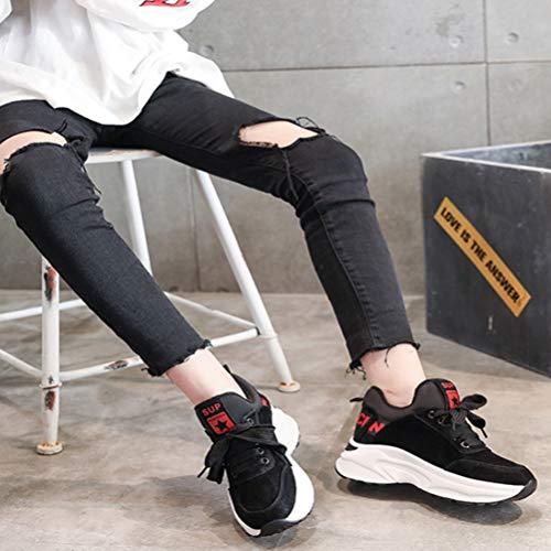 Zapatillas Ocasionales Señoras De Interior Las Zapatos Invierno Aumento B Otoño Engrosamiento 4dzqH7