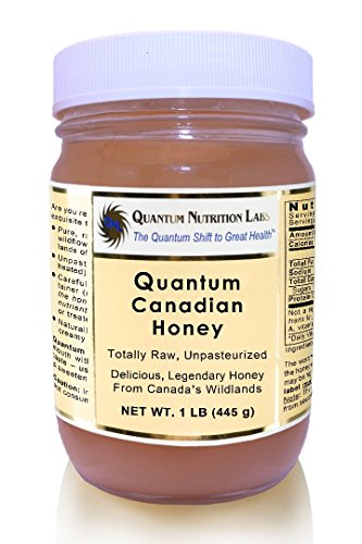 Quantum Canadian Honey - 1lb Untreated, Unpasteurized, Totally Raw Honey