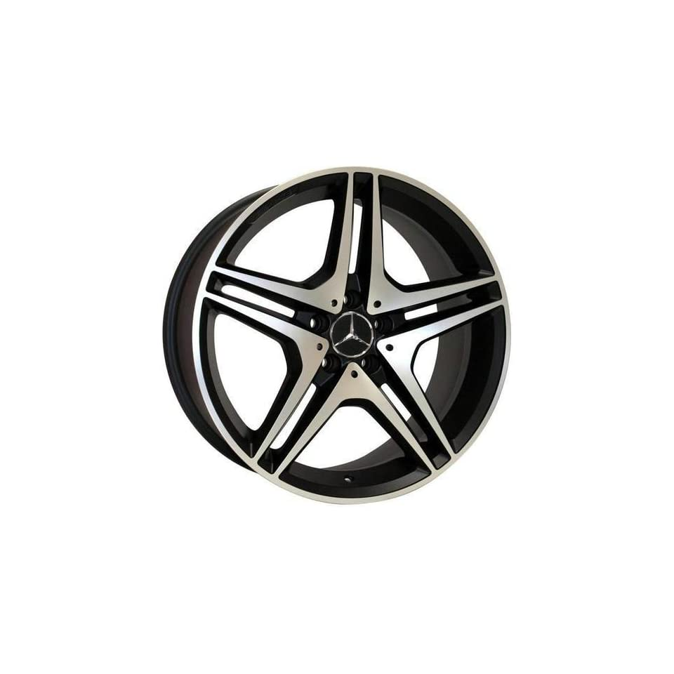 22 Wheels for Mercedes Benz ML ML430 ML500 GL GL450 AMG style set of 4 rims & caps and lugs