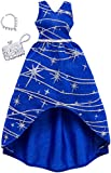 Barbie Complete Looks Navy Silver Sparkle Gown Fashion Pack