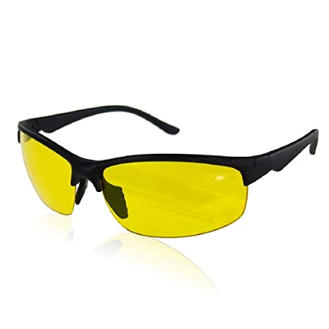 Night Vision Glasses High Definition Driving Sunglasses Yellow Lens Classic UV400 Unisex Men Gafas De Sol Hombre Fishing Eyewear