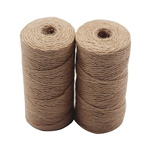 LAOZHOU 2 Rolls Natural Cotton Cooking Twine Assorted,Food Safe Kitchen