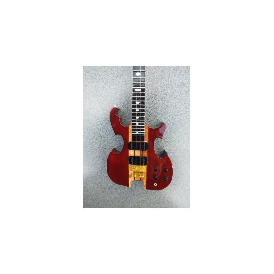 RGM141 John Paul Jones Led Zeppelin Bass Miniature Guitar