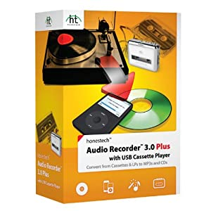Audio Recorder 3.0 Plus with Cassette Player
