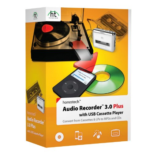 Audio Recorder 3.0 Plus with Cassette Player by VIDBOX