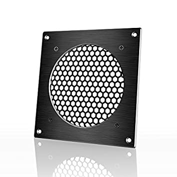 Great AC Infinity Ventilation Grille, For PC Computer AV Electronic Cabinets,  Also Mounts One 120mm