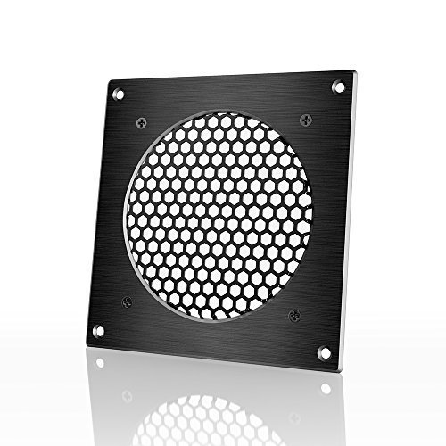 AC Infinity Ventilation Grille, for PC Computer AV Electronic Cabinets, also mounts one 120mm (Cooling Fan Guard)
