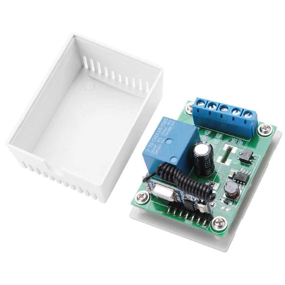 Remote Control YK-1 5V//12V//24V//220V Remote Control Switch,Single Channel Relay Module RF Wireless Switch Receiver 5VDC