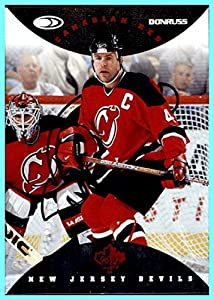 1996-97 Donruss Canadian Ice Red Press Proofs #103 Scott Stevens NEW JERSEY DEVILS