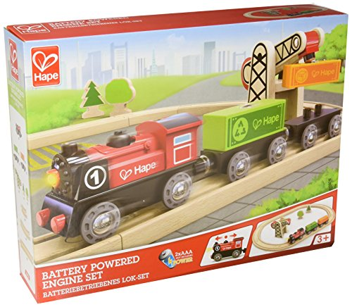 Train Thomas Engine Battery Powered (Hape Railway Battery Powered Engine Train Set)