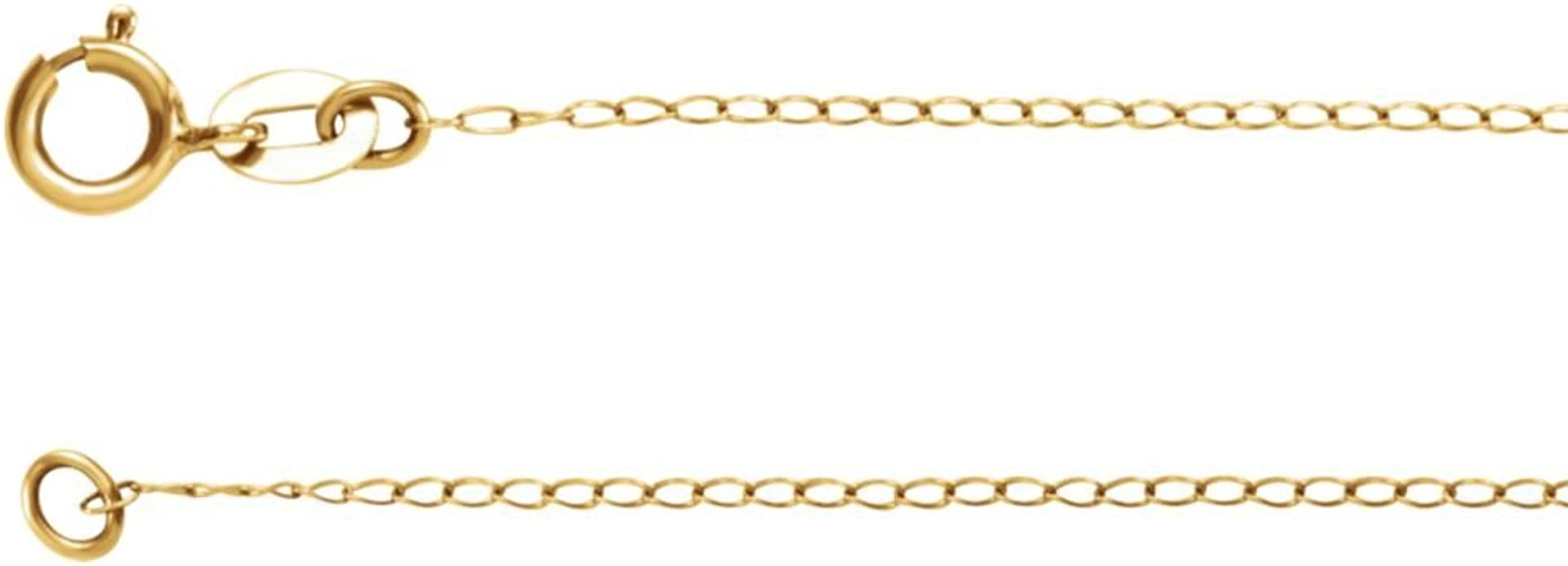 DiamondJewelryNY Stainless Gold Heavy Curb Chain