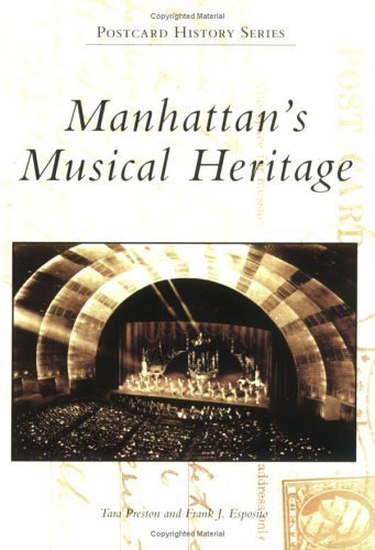 Manhattan's Musical Heritage (NY) (Postcard History) by Tara Preston - Shopping Manhattan Malls