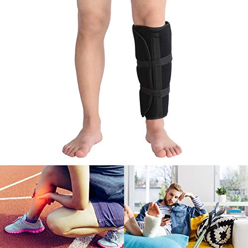 (Filfeel Calf Support, Shank Brace Strap Tibia and Fibula Fracture Orthosis External Fixation for Reduce Pains)