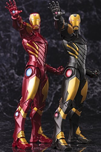 MARVEL COMICS IRON MAN MARVEL NOW ARTFX+ STATUE (BOTH BLACK & GOLD and RED COLOR VARIANTS) IN STOCK by Kotobukiya