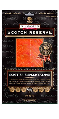 Scotch Reserve Scottish Smoked Salmon 1 lb - Sliced & ()