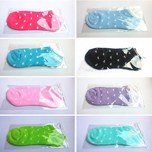 Pure cotton socks solid color heart-shaped pattern Taobao small gifts microblogging space pat gifts to send customers a small gift shop