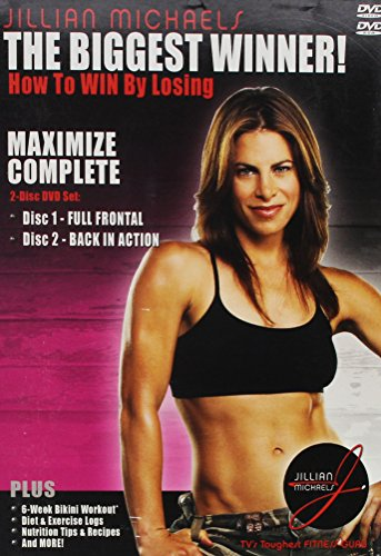 The Biggest Winner Maximum Complete 2 DVD Set Full Frontal/Back In Action Plus Exclusive Workout Music CD by Tudor Management Group