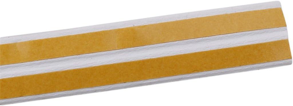 Black 250cm VWH Indoor Weather Stripping Window Seal Strip For Doors And Windows Soundproofing Weatherstrip Gap Blocker D Type