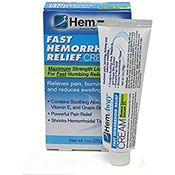 Amazon.com: Hemapro - Natural Cream to treat Hemorrhoids with ...