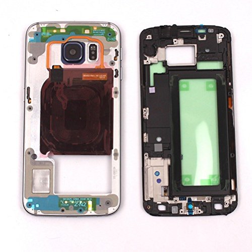 iddle Frame Assembly Cover For Samsung Galaxy S6 Edge G925 (Gold) ()
