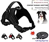 Best Dog Harness No Pulls - Dog Harness No Pull Pet Harness 3M Reflective Review