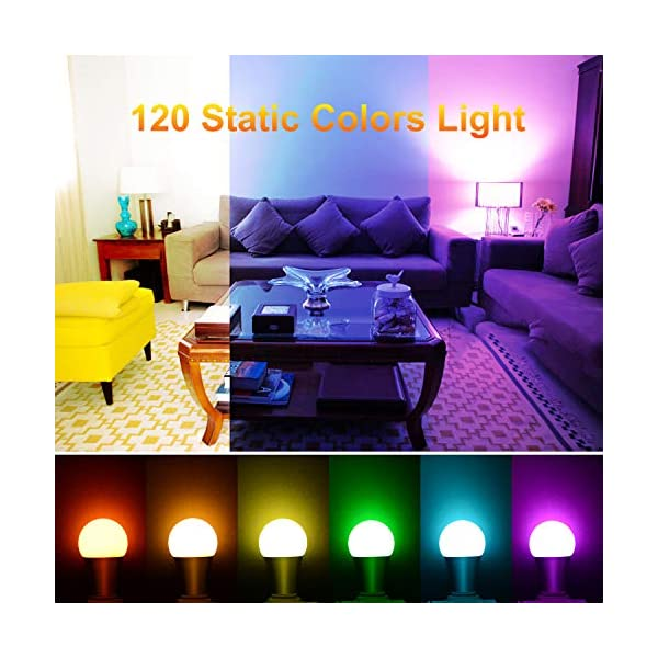 Led Light Bulbs 10w E26 27 Rgbw Led Color Changing Light Bulb With Remote Control Dimmable Timing Led Lamp 120 Blinkee Com