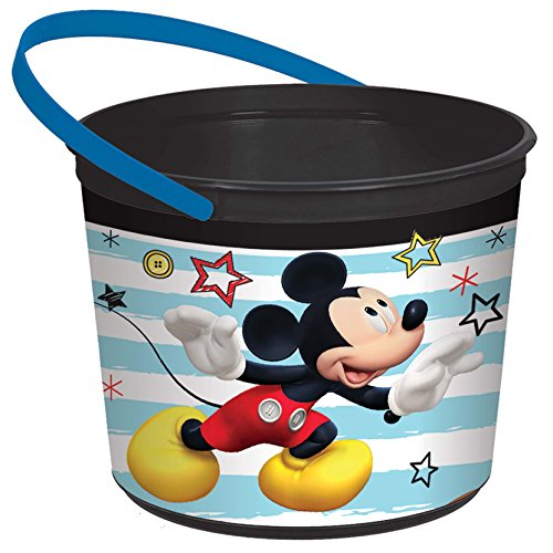 Mickey On The Go Birthday Party Favor Container]()