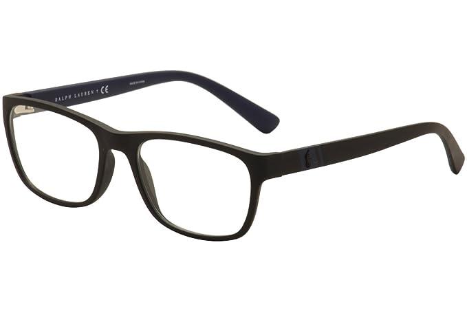 Ralph Lauren Polo 0PH2153, Monturas de Gafas para Hombre, Matte Black, 50