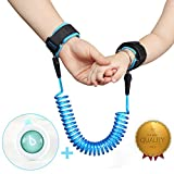 Elecplay Baby Child Anti Lost Wrist Link Safety 360° Breathable Wrist Link 72inch (Blue)