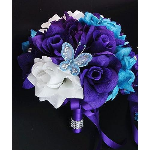 Purple And White Wedding Decor Amazon