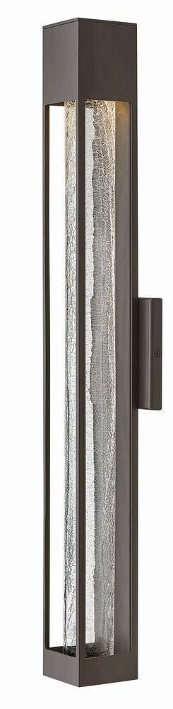 Hinkley 2855BZ Contemporary Modern One Light Outdoor Wall Mount from Vapor collection in Bronze/Darkfinish,
