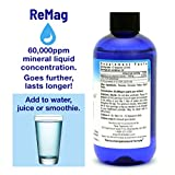 RnA ReSet - ReMag High Absorption Magnesium Liquid, ReMyte Mineral Solution, 12 Minerals Including Iodine, Selenium, Zinc, Magnesium, Boron, 480 ml - by Dr. Carolyn Dean