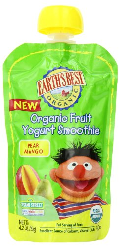 Earths Best Smoothie Mango 4 2 Ounce