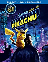 Pokemon Detective Pikachu (Blu-ray + DVD + Digital Combo Pack) (BD)]]>